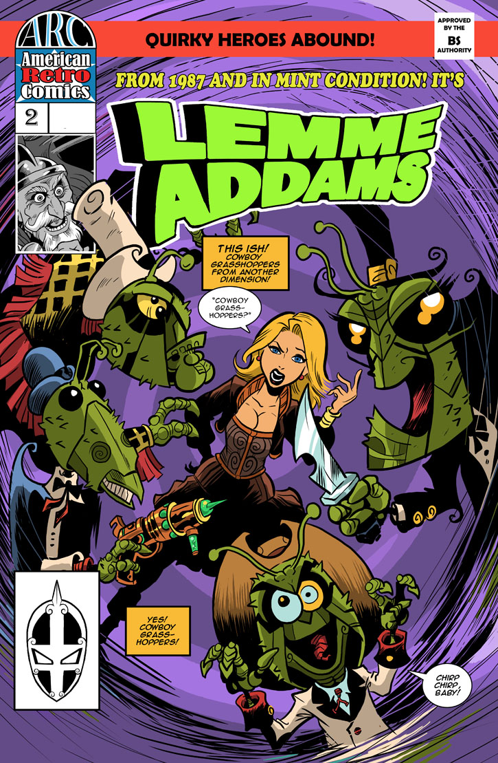 Lemme Addams Issue 2 cover